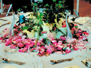 Table decoration order of a Service Club, more than 20 tables-13