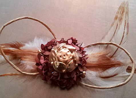 und mit einer goldenen Perle / and with a fashion pearl