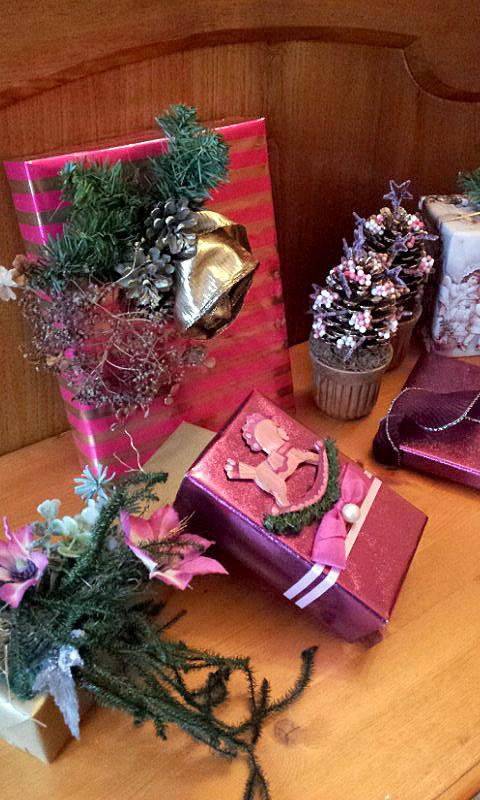 Christmas pink 2