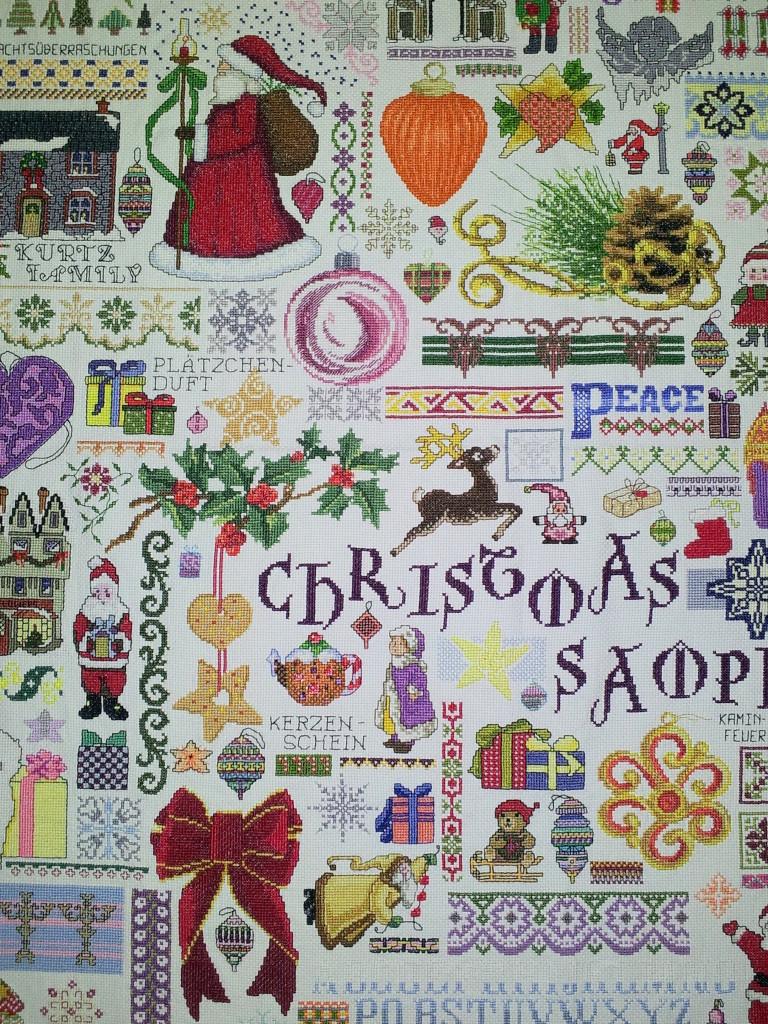 2008 Huge Christmas Sampler Detail BLOG