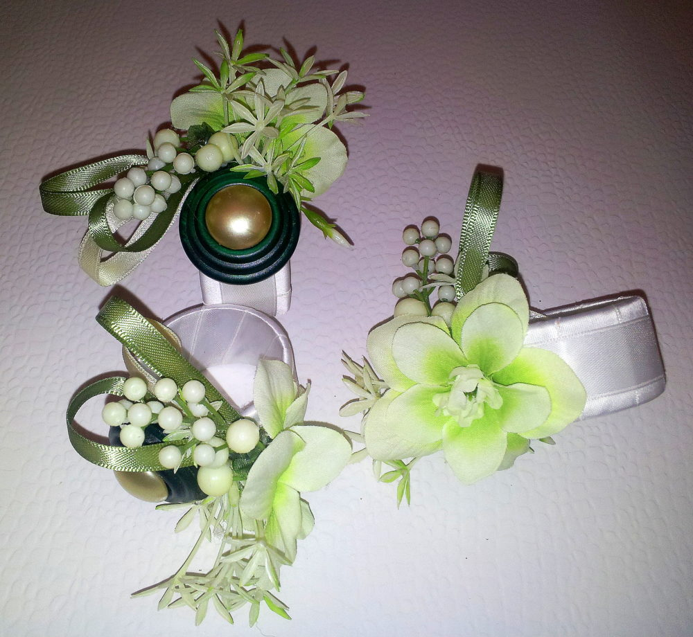 Serviettenringe Frühling grün1 BLOG