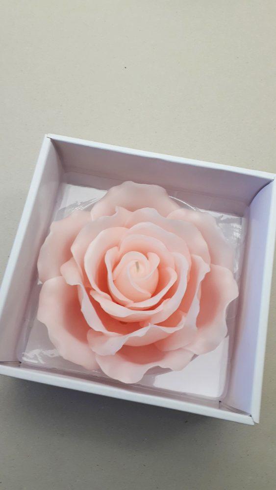 26.01.18 Rosenkerze rosa 1 BLOG