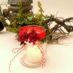 Kerzenglas m.Beeren II BLOG PIN IN